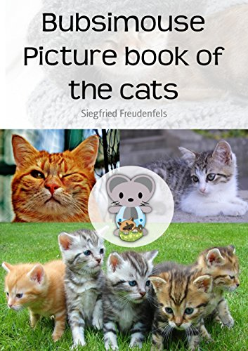 Bubsimouse Picture book of the cats: Cat book for kids - free children's book