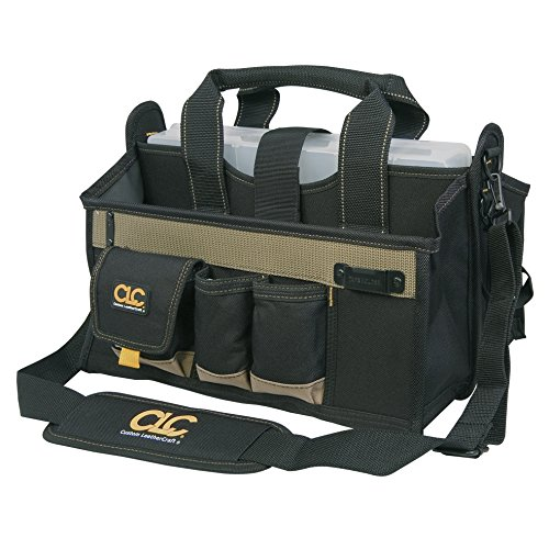 Custom Leathercraft 15 Pocket 16 in. Center Tray Tool Bag Review