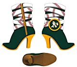 OAKLAND A'S TEAM BOOT RESIN ORNAMENT 3""
