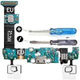 MMOBIEL Dock Connector for Samsung Galaxy S6 Edge G925F Dock Connector forMicro USB Charging Port Flexcable with microphone and speaker connector preinstalled incl 2 x screwdriver for easy installation