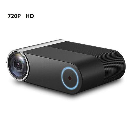 QLPP HD LED proyector 720P, 2400 lúmenes Ayuda 1080P WiFi ...