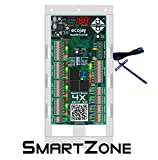 SmartZone-4X Control - 4 zone controller KIT w/ Temp sensor - Universal Replacement for honeywell zoning panel truezone hz432 & more
