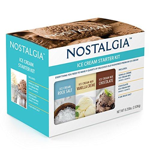 Nostalgia ISK3 Premium Ice Cream Starter Kit