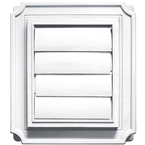 Builders Edge 140137079001 Vent, 1, White