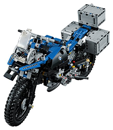 51%2BgkeuESeL - LEGO Technic BMW R 1200 GS Adventure 42063 Advanced Building Toy