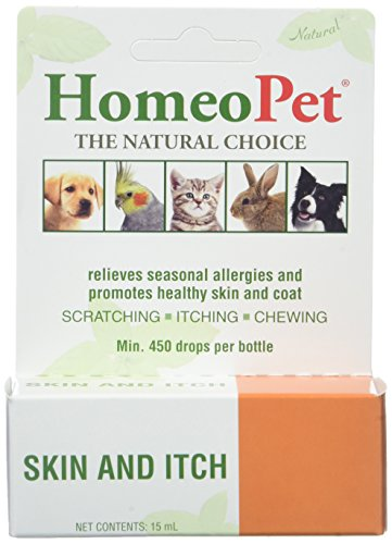 3 PACK HomeoPet Skin and Itch Relief (45 mL)
