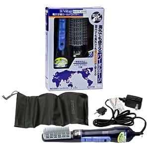 TESCOM Dual Voltage Hair Styler Hot Air Brush Curl Dryer BI2000