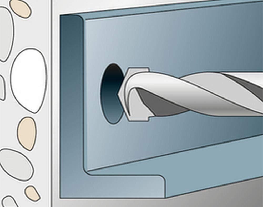 Art.-Nr 501406 Edelstahl fischer FAZ II 10//20 A4 Holzkonstruktionen in Beton 50 St/ück Gel/änder mit Zulassung Bolzenanker zum Befestigen von Fassaden