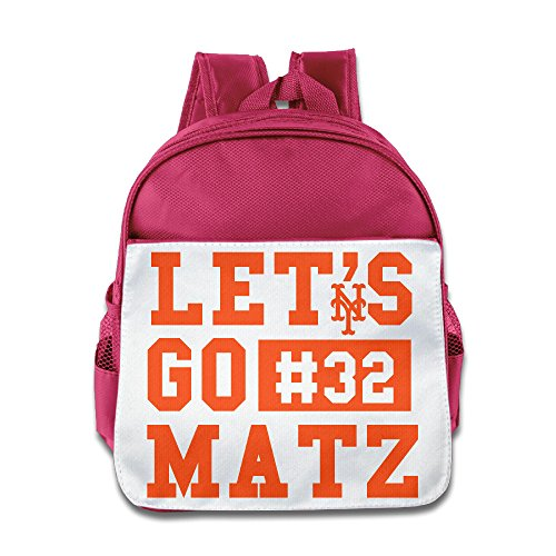 LINNA Funny Let's Go #32 Matz Kids School Bagpack For Boys And Girls - St Ban Louis Ray
