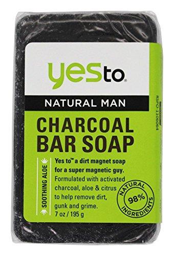 Yes To Natural Man Charcoal Bar Soap, 7 ()