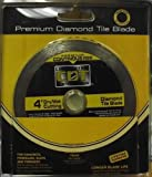 "Construction Diamond 4"" Premium Continuous Rim Diamond Saw Blade 92104020"