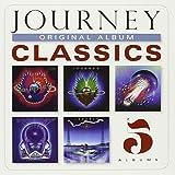 Journey Original Album Classics CD - 5 CDs + Digital Copy Infinity / Evolution / Esacpe / Frontiers / Raised on Radio