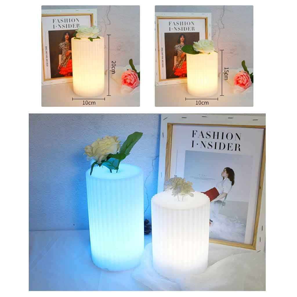 Amazon.com: Eoco Table Lamp, LED Remote Control Colorful ...