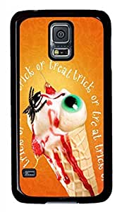 Trick Or Treat 2014 Halloween Black Hard Case Cover Skin For Samsung Galaxy S5 I9600
