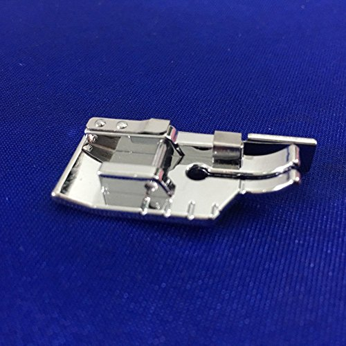 Machine Patchwork (YEQIN 1/4'' Quilting Patchwork Sewing Machine Presser Foot with Edge Guide - Fits All Low Shank Snap-On Singer, Brother, Babylock, Euro-Pro, Janome, Juki, Kenmore, New Home, White, Simplicity, Elna)