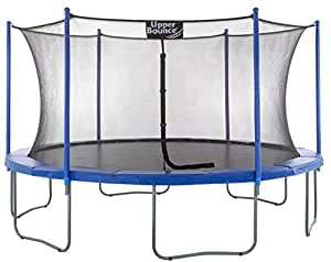 """Upper Bounce 10 FT. Trampoline & Enclosure Set equipped with the New """"EASY ASSEMBLE FEATURE"""""""