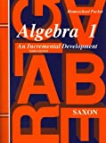 Saxon Algebra 1 Answer Key & Tests Third Edition by Saxon (1998-04-30)