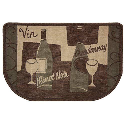 Pilgrim Home and Hearth 19621 Pinot Noir Fireplace Rug, 36 x 23, Mixed (Hearth Floor Protector)