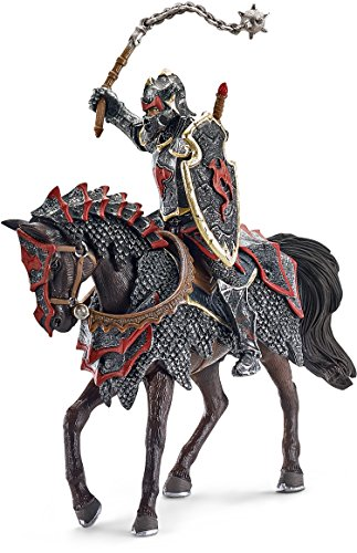 Schleich Dragon Knight Action Figure on Horse with Flail (Schleich Knights)