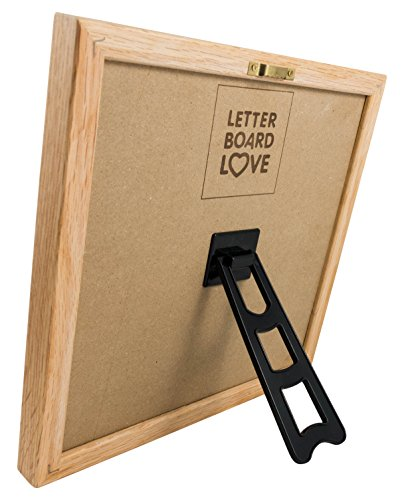 10 x 10 felt letter board with solid oak wood frame 694 letters special characters emojis. Black Bedroom Furniture Sets. Home Design Ideas