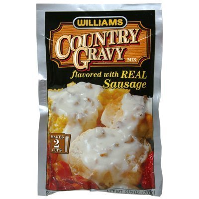 WILLIAMS Gravy Mix with Sausage, 2.5-Ounce (Pack of 12) ()