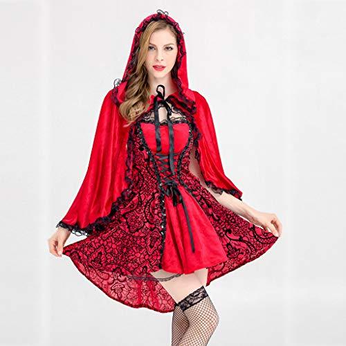 YGbuy-Vestido De Mucama De Falda Larga para Mujer Cosplay Disfraz ...