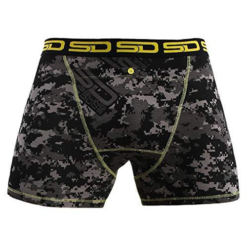 Men's Boxer Briefs - Stash Underwear with Secret Front Stash Pocket -