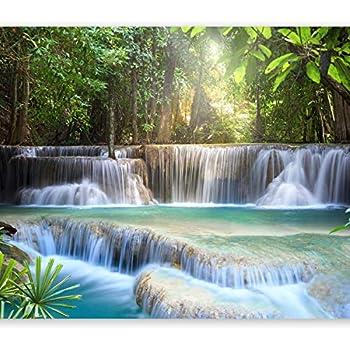 artgeist photo wallpaper waterfall 154 x110 xxl peel and. Black Bedroom Furniture Sets. Home Design Ideas