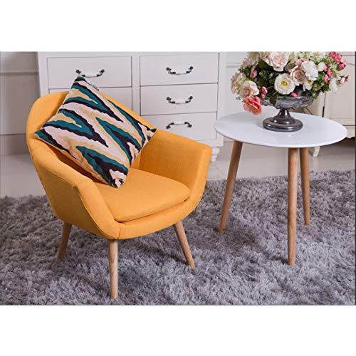 Amazon.com: PILIBEIBEI Silla perezosa de tela moderna, silla ...