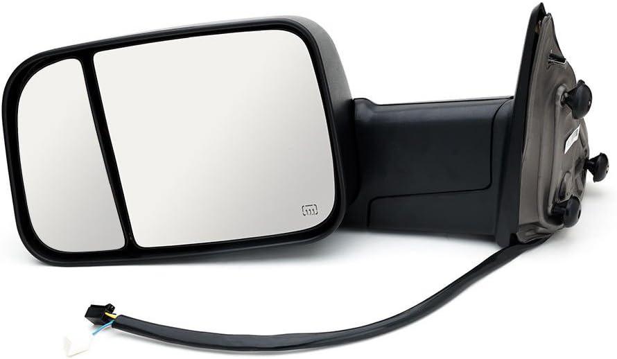 RAM 0 9-1 7 Seitenspiegel Anh/änger R/ückspiegel Paar beheizt, elektrisch, manuell ausklappbar, mit Blinkerlampe