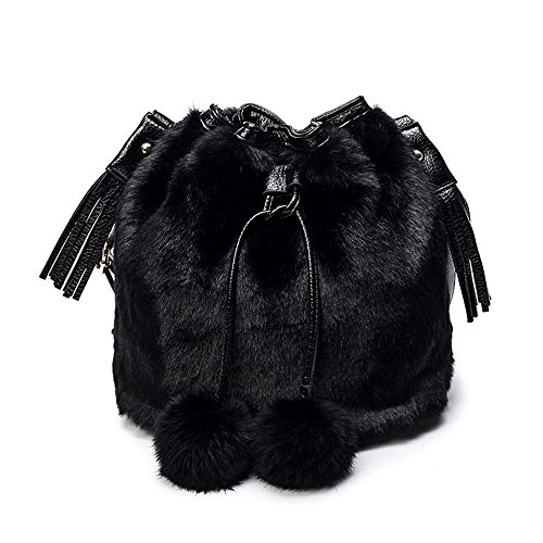 CocoMarket Crossbody Bag For Women, Fashion Lady Mobile Phone Purse Pretty Shoulder Bag Plush Bag Messenger Bag