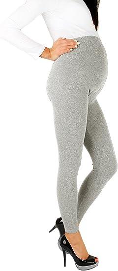 New Comfortable Maternity Cotton Leggings Full Ankle Length PREGNANCY 8 10 12 14