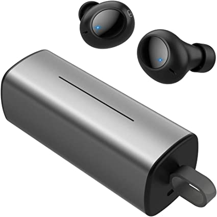 Amazon Com Wireless Earbuds Miikare True Wireless Bluetooth Earbuds Bluetooth 4 2 Earphones Deep Bass Stereo Sound Built In Microphone Noise Isolation Sweatproof In Ear Headphones With Charging Case Home Audio Theater