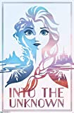"Trends International Disney Frozen 2 - Into the Unknown Wall Poster, 22.375"" x 34"", Multi"