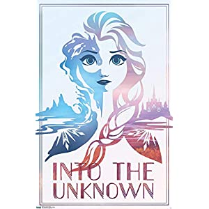 Trends International Disney Frozen 2 – Into the Unknown Wall Poster, 22.375″ x 34″, Multi