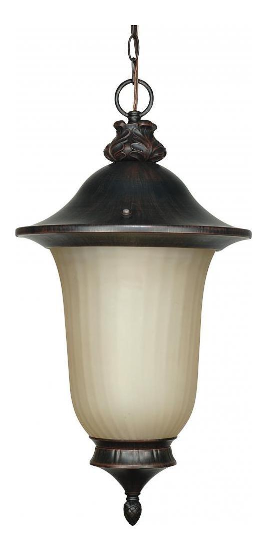 Parisian Es - 3 Light Hanging Lantern W/ Champagne Glass - (Lamp Inclu
