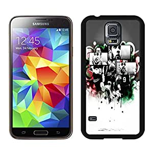 Customized Phone Case For Samsung S5 san antonio spurs Cell Phone Cover Case for Samsung Galaxy S5 I9600 G900a G900v G900p G900t G900w Black