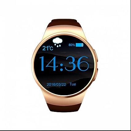 Dispositivo electrónico Wearable Reloj inteligente Deportivo Soporte tarjeta SIM/captura remota/Monitor de Calorías