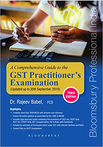 A Comprehensive Guide to GST Practitioner's Examination