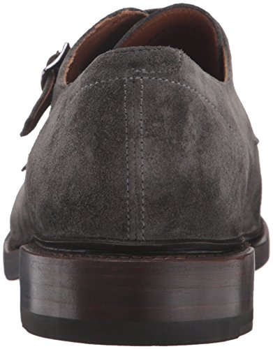 Frye Mens Jones Doppia Monaco Loafer Slip-on Carbone