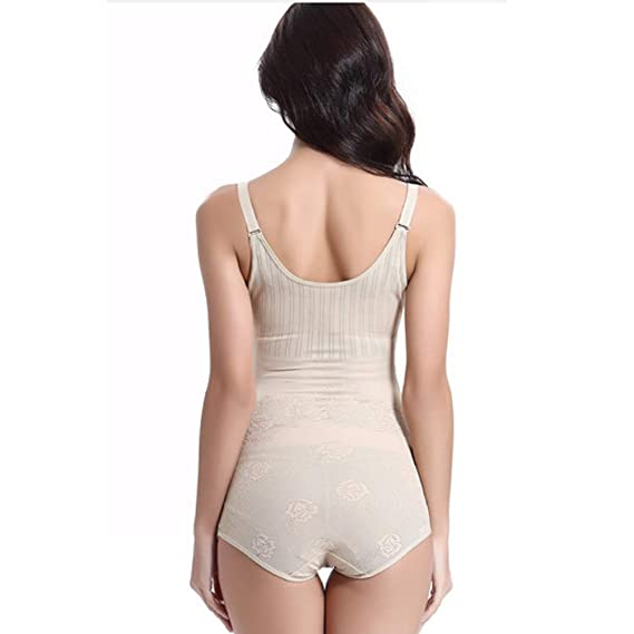 Tookang Donna Dimagrante Seamless Corsetto Bustino Body Shaper Shaping Body Nylon e Elastane
