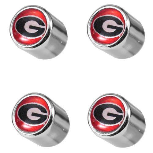 Georgia Bulldogs College Cappers Tire Valve Stem Covers -
