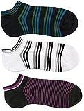 Brave Adults 3PK Sporty Cotton Low Cut Socks, Fits Shoe Size 6.5-12, Combo 9 For Sale