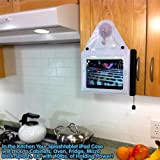 New Lower Price! Splashtablet Moveable Suction-Mount Kitchen iPad/iPad Mini Case