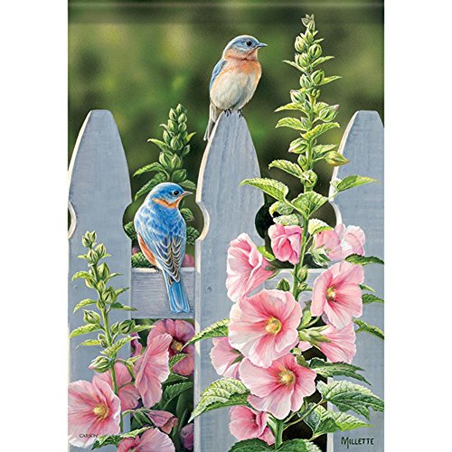 Carson Home Accents FlagTrends 46829 Bluebird Bliss Classic Outdoor Garden ()