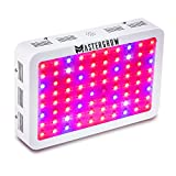 MasterGrow 800W, Led Grow Light, Double Chips, Full Spectrum,Greenhouse Grow Tent Plants Vegetables and Flowering Growing(10wX80pcs)