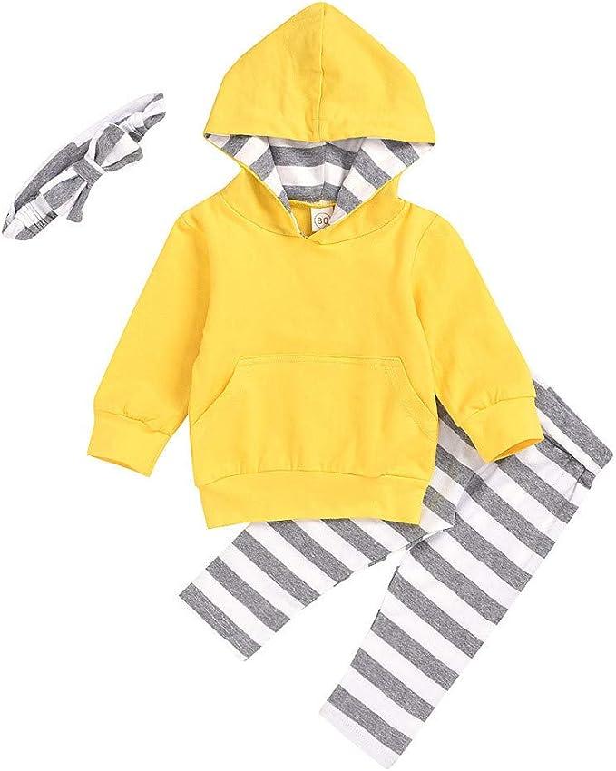 3pcs Baby Kleinkind M/ädchen Jungen Kleidung Kurzarm Strampler Overall Tops T-Shirt style/_dress Baby Kleidung Set Hosen Hut Outfits Spielanzug Set