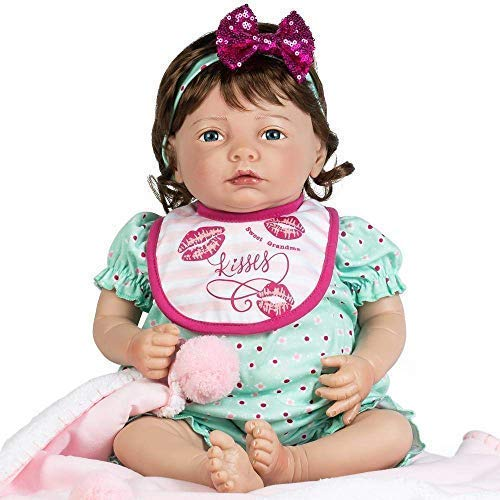a8c21f8a7406 Paradise Galleries Reborn Baby Girl Doll That Looks Real Cuddle Bear ...