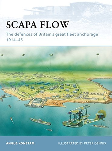 Download Scapa Flow: The defences of Britain's great fleet anchorage 1914–45 (Fortress) ebook