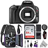 Canon EOS Rebel SL2 DSLR Camera Body w/Advanced Photo & Travel Bundle – Includes: Altura Photo Backpack, SanDisk 64gb SD Card, Wrist Strap and Cleaning Kit Review